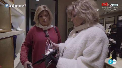 Terelu desprecia un regalo de Mª  Teresa: No quiero zapatos, quiero dinero