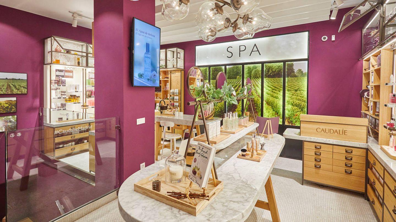 Boutique Spa de Caudalie en Madrid. (Cortesía)