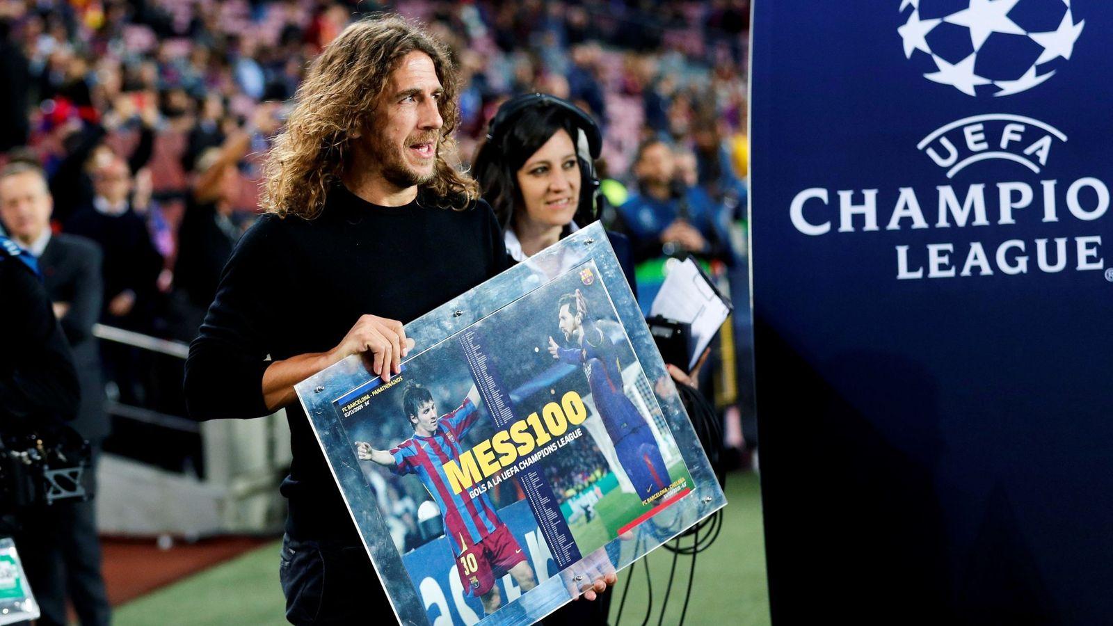 Foto: Carles Puyol, en un partido del Barcelona. (EFE)