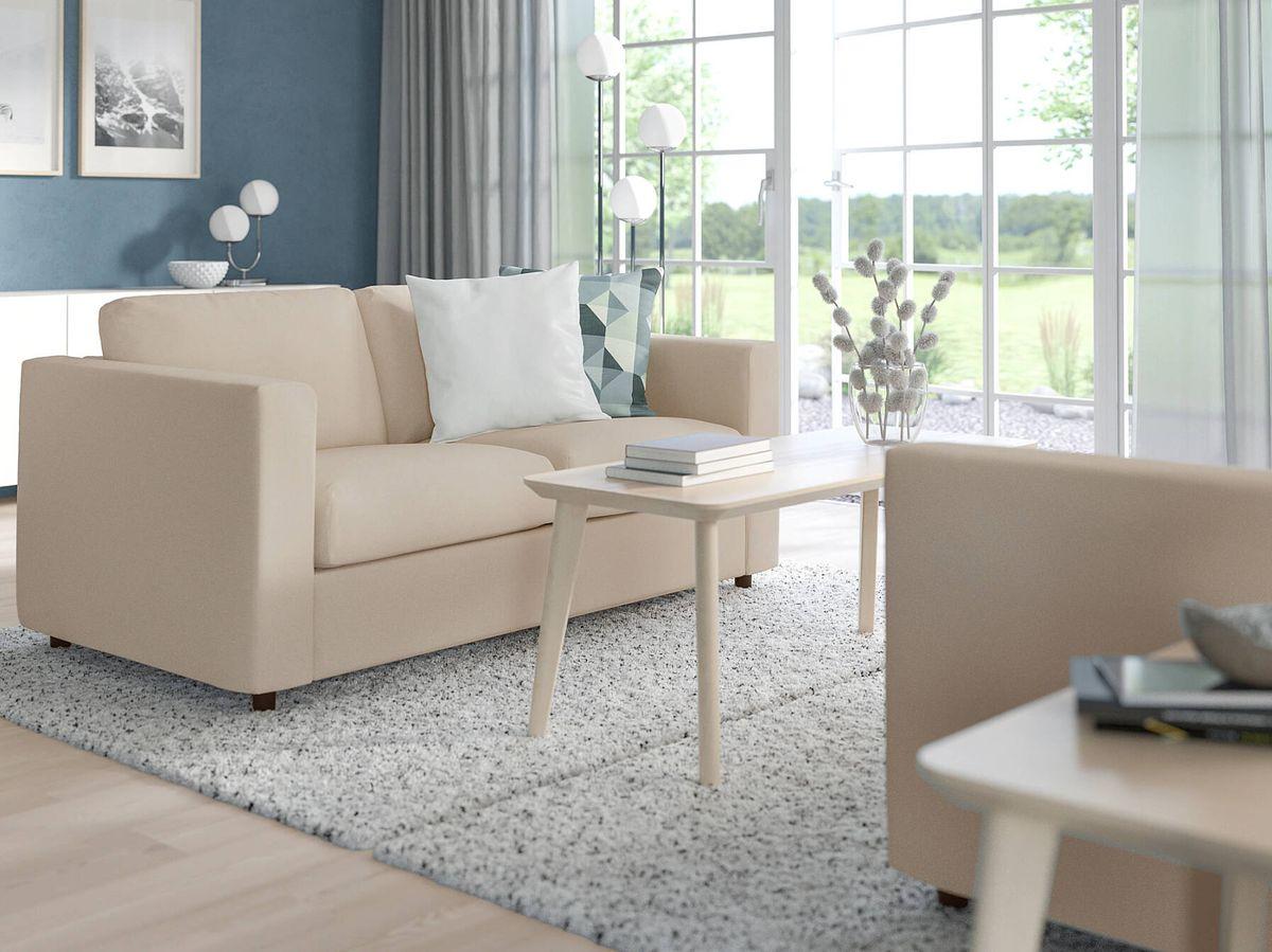 Foto: El nuevo sofá cama de Ikea. (Cortesía)