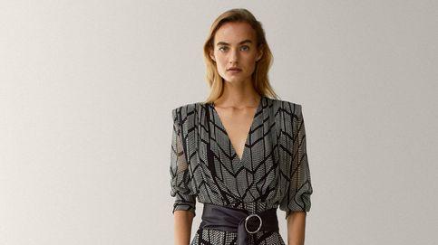 Massimo Dutti tiene un vestido que eleva el pecho y aplana la tripa de todas: por eso está en el top ventas