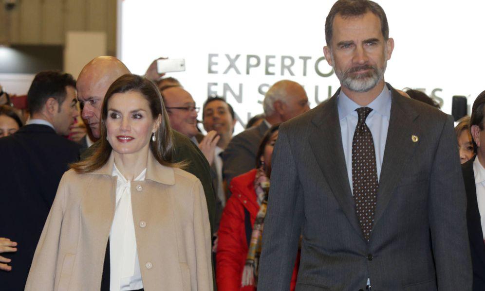 Foto: Don Felipe y Doña Letizia inauguran Agroexpo en Badajoz