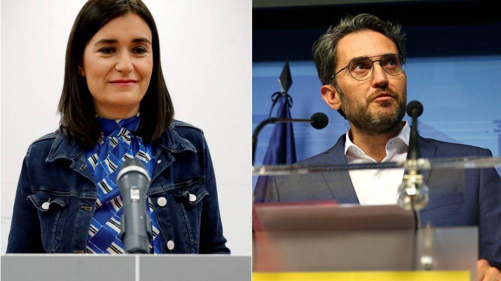 Foto: Carmen Montón y Màxim Huerta, las dimisiones del ejecutivo de Sánchez