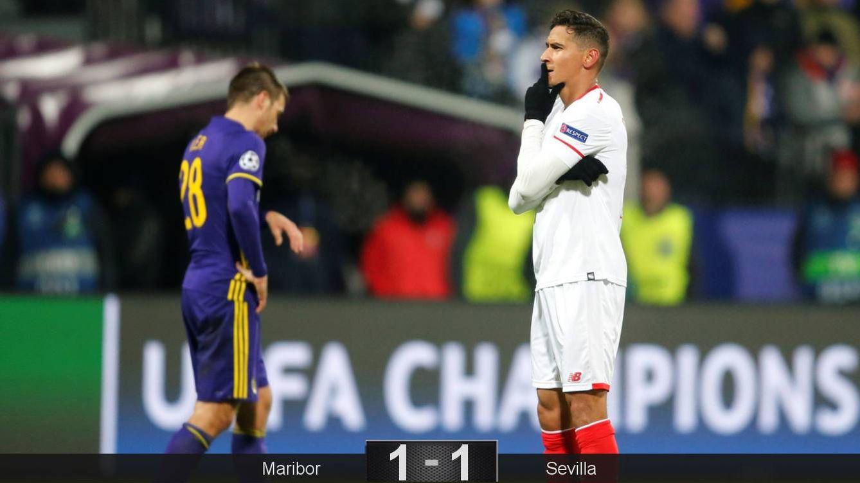 Foto: Ganso fue el autor del gol del Sevilla en Maribor. (Reuters)