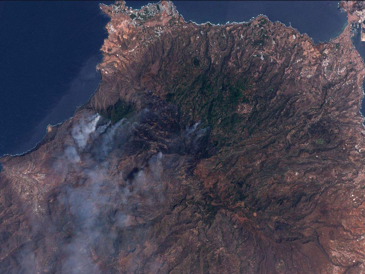 Foto: La isla de Gran Canaria fue una de las más afectadas de toda España
