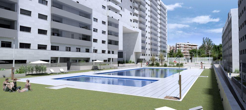 Foto: La promoción de viviendas más demandada de Madrid: 3.400 euros el metro cuadrado