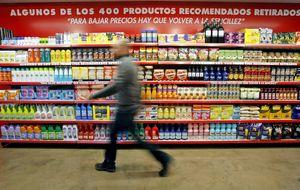 Los precios bajan dos décimas en mayo, al 0,2%, por los alimentos