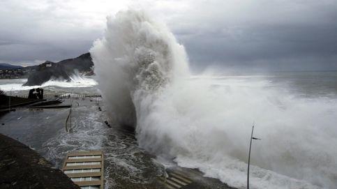 45 provincias vuelven a estar en riesgo por lluvias, viento y oleaje por la borrasca Elsa