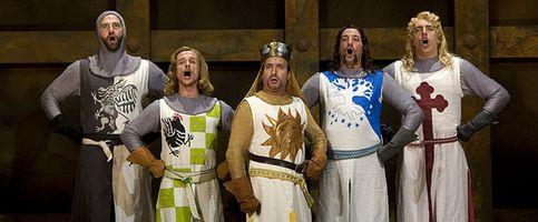 'Spamalot', el antimusical de Monty Python, da la carcajada