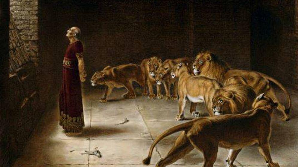 Foto: Obra 'Daniel en el foso de los leones', de Briton Riviere. (C.C.)