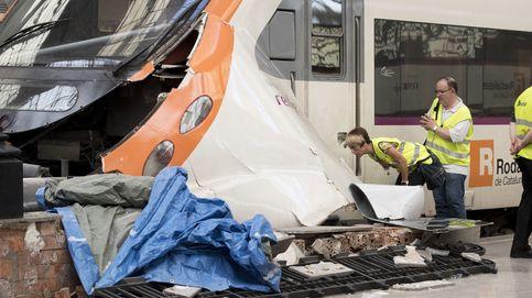 Así ha colisionado el tren de cercanías en la Estación de Francia en Barcelona