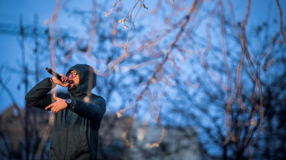 Foto: El rapero Valtonyc, el pasado 17 de marzo en Barcelona. (EFE)
