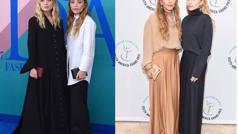Las Olsen y su inconfundible estilo. (Getty)