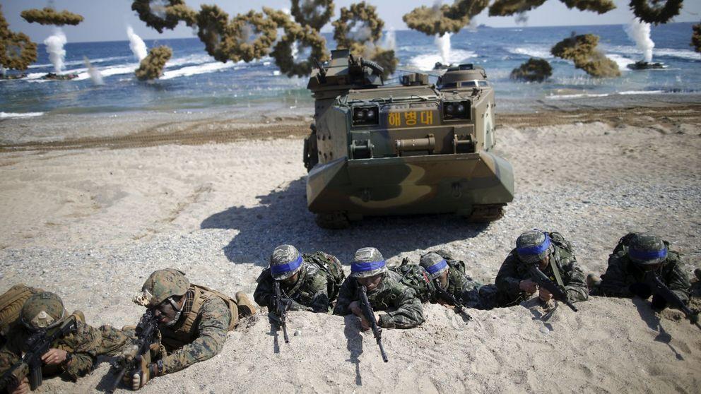 Misiles y portaaviones: así se prepara una posible invasión de Corea del Norte
