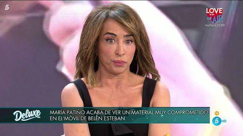 María Patiño se rompe con el doloroso material que guarda Belén Esteban