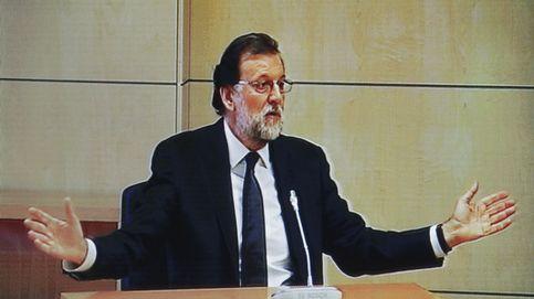 Ironía, evasivas y galleguismos... Rajoy despacha su 'paseíllo' por Gürtel