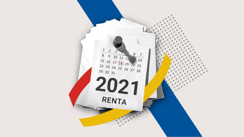 Foto: Plazos para la presentación a tiempo de la declaración de la renta 2020. (EC Diseño/Rocío Márquez)
