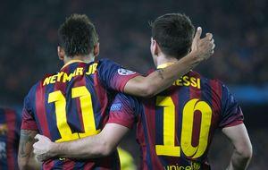 Neymar debe evitar ya que la sombra de Messi apague su magia