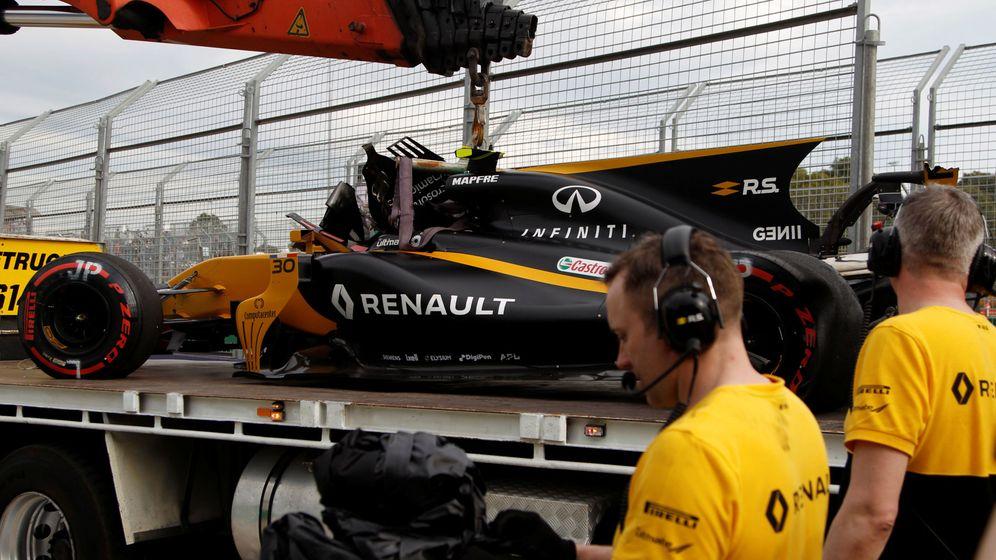 Foto: Renault ha sufrido innumerables problemas técnicos a lo largo de 2017. (Reuters)
