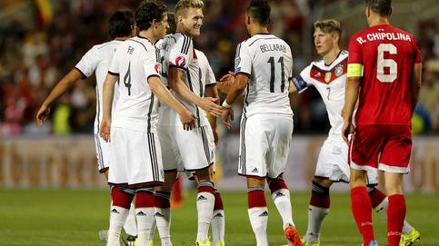 Alemania mete siete a Gibraltar en su exilio y avanza en la clasificación