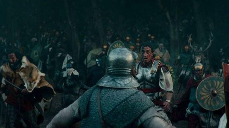 Escena de la Batalla de Teutoburgo en 'Bárbaros'. (Netflix)