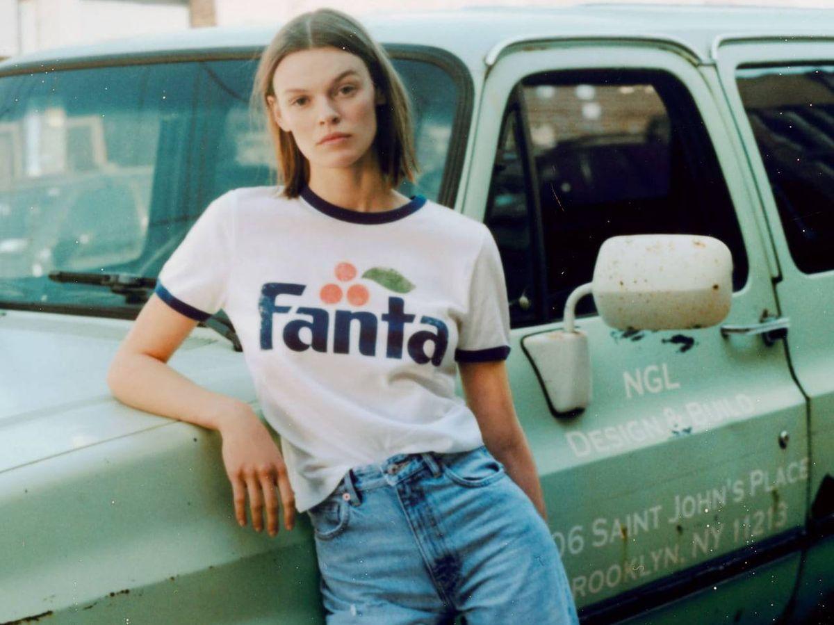 Foto: Camiseta de Fanta de Zara. (Cortesía)