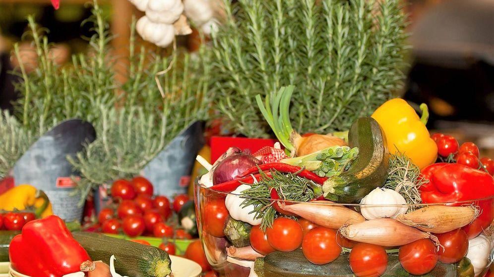 Foto: Productos mediterráneos.