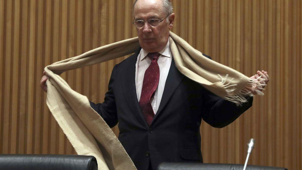 Foto: Rodrigo Rato este martes en el Congreso. (EFE)