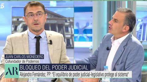 Brutal bronca entre Monedero y Ortega Smith ante Ana Rosa: ¡Basta ya!