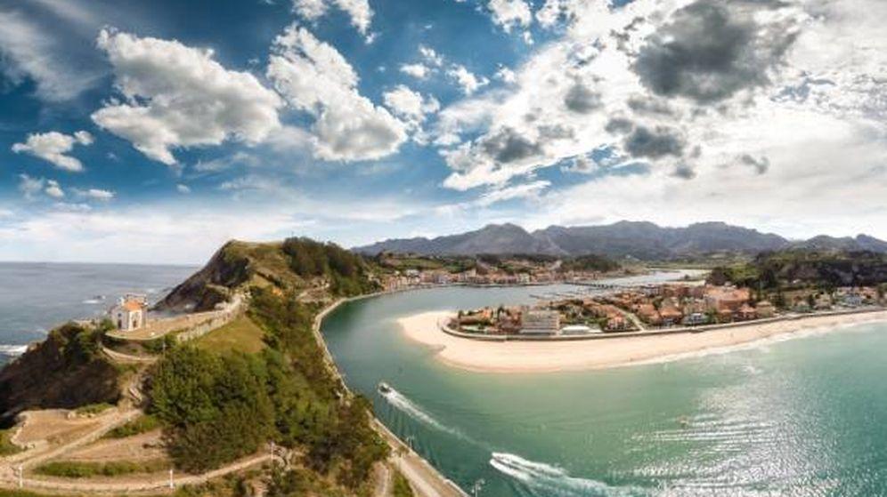 Foto: Una vista área de esta villa asturiana. (Cortesía Turismo Ribadesella)