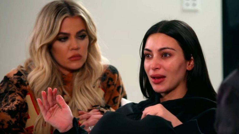 Foto: Kim Kardashian junto a su hermana Khloe en una imagen de archivo.