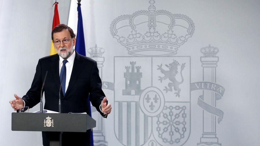 Foto: Rajoy anuncia las medidas de aplicación del 155.