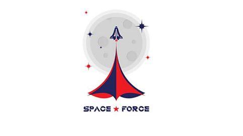 Trump va en serio con sus 'Space Forces': ahora quiere que elijas su logo
