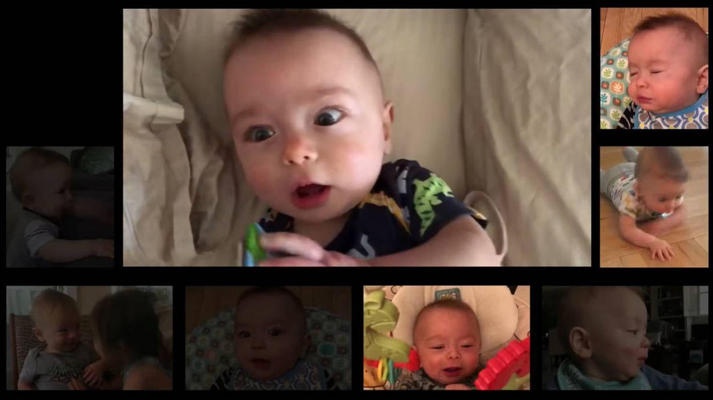 Graba los sonidos de su bebé durante un año para hacer una canción de AC/DC