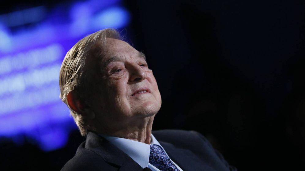 Foto: El inversor George Soros durante el Foro Económico Mundial, en Davos. (Reuters)