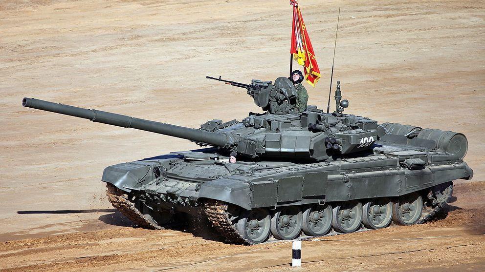 T-90, el mortífero tanque que Rusia ha enviado a Siria para ganar la guerra