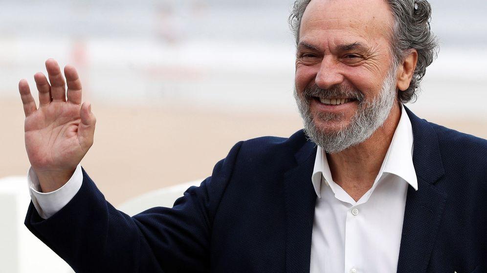 Foto: José Coronado, en la 66 edición del Festival de Cine de San Sebastián. (EFE)