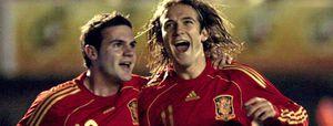 Foto: España empata con Noruega en u partido gris