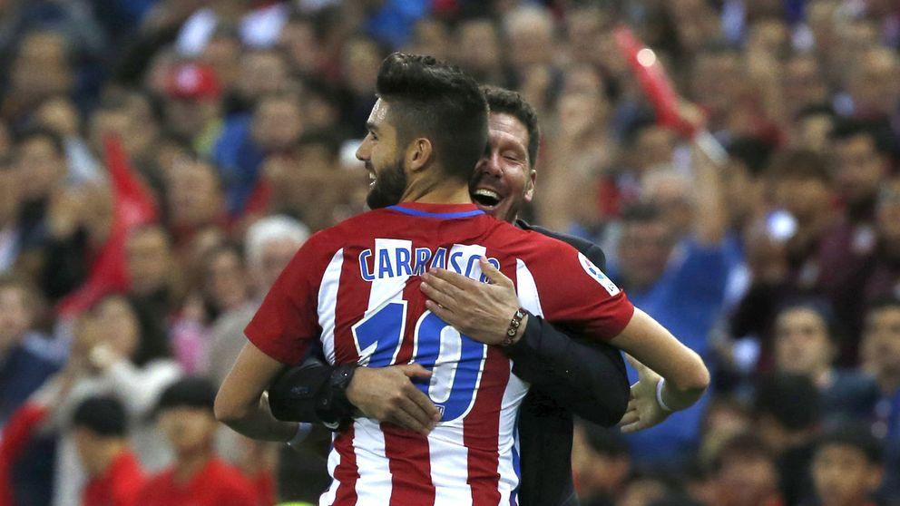 El atraco fallido de Cavani y por qué Yannick Carrasco regresa al Atlético de Madrid