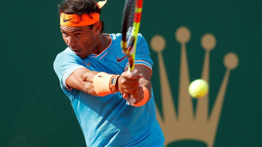 Foto: Rafa Nadal defiende el título en Montecarlo. (Reuters)