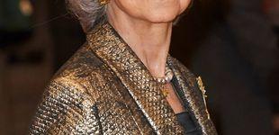Post de Doña Sofía brilla (literalmente) en su gran noche: aplausos y un toque moderno