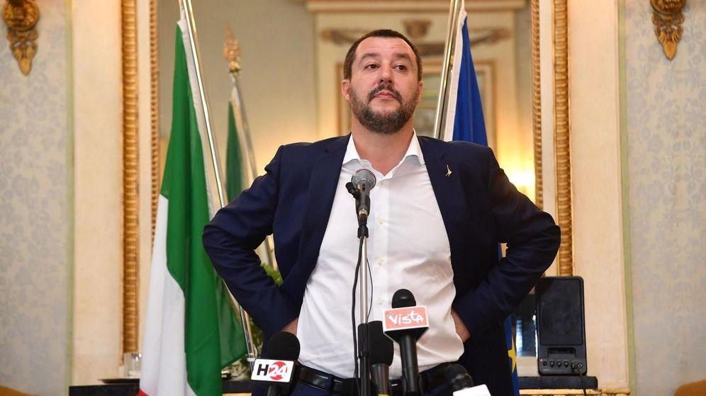 Foto: El ministro italiano de Interior, Matteo Salvini. (EFE)