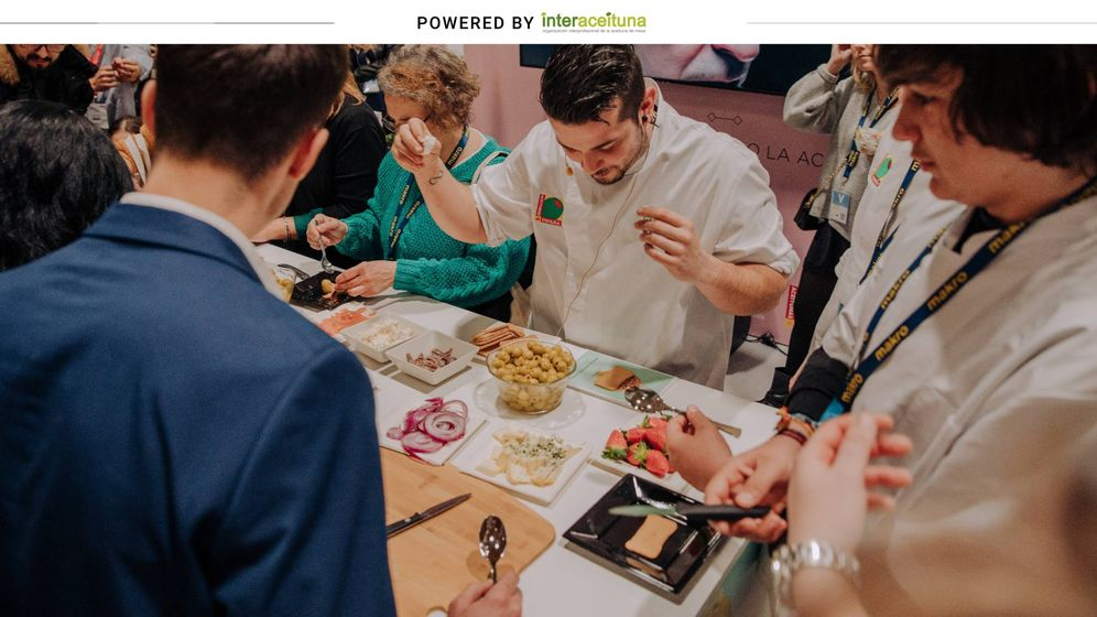 Foto: El chef Carlos Maldonado en Madrid Fusión. (Interaceituna)