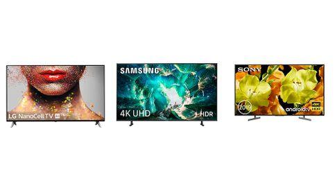Televisiones 4K de 65, 55, 43 y 32 pulgadas en súper ofertas Black Friday