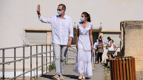 Así son las zapatillas que lució Felipe VI en su última visita a Ibiza