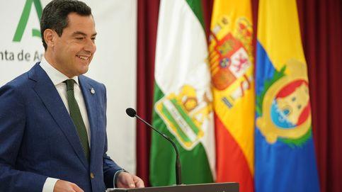Moreno ensancha el centro para el PP y busca crecer a costa del PSOE