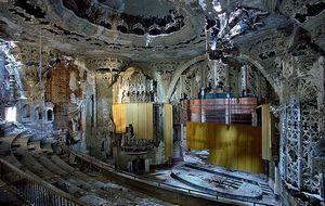 Ruinas y declive en Detroit