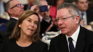 Gallardón y Ana Mato ahogan sus penas judiciales con un almuerzo en La Manduca