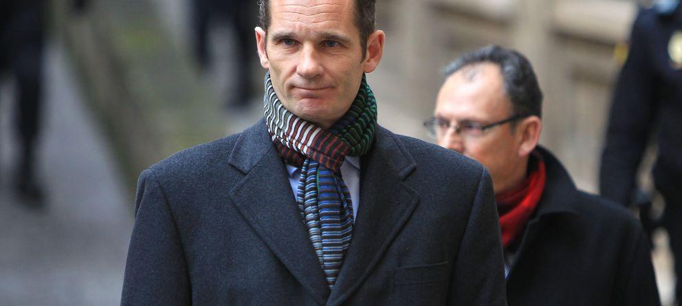Foto: Iñaki Urdangarin llegando al juzgado de Palma el 23 de febrero de 2013 (Gtres)