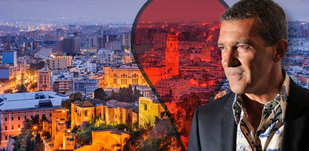 Foto: Antonio Banderas posee gran número de propiedades en Málaga. (Vanitatis)
